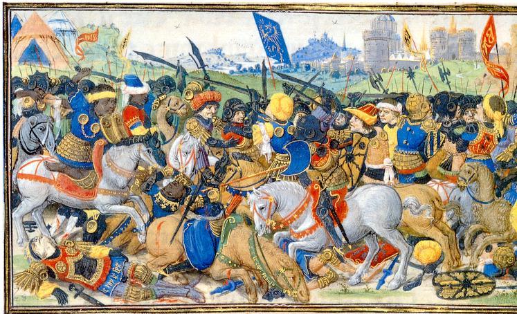 Manuscrito Lord Devonshire: Batalla general frente a Babilonia.jpg