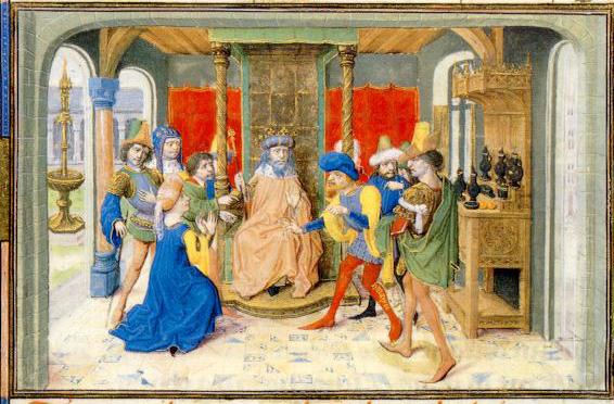 Manuscrito Lord Devonshire: Corte del Sultán.jpg