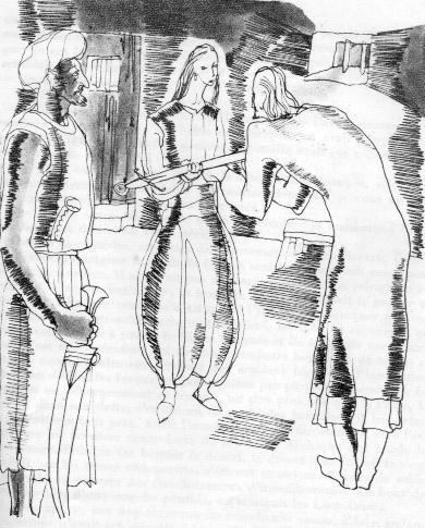 Graciana le entrega espada del Sultán.jpg