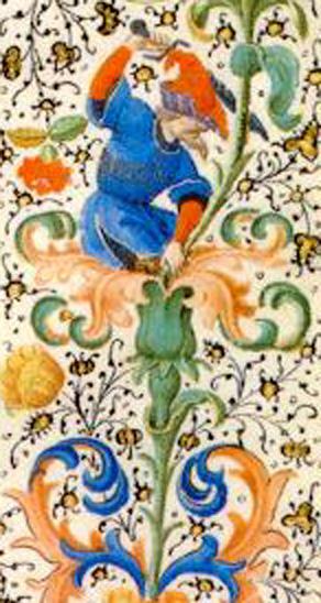 Manuscrito Lord Devonshire: detalle de la orla.jpg